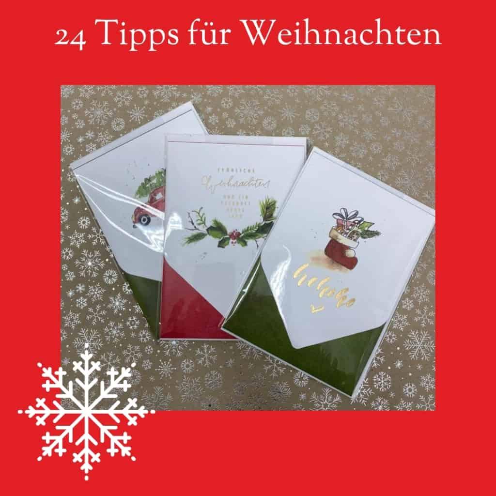 Du willst noch Weihnachtspost verschicken? Wir haben die passenden Weihnachtskarten für Dich!