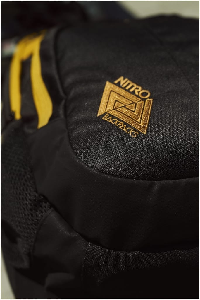 Detail NITRO Bag Serie Golden Black