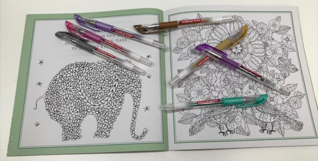 Edding Gel Roller jetzt in neuen Farben im Sortiment | Buch und Papier Dodt
