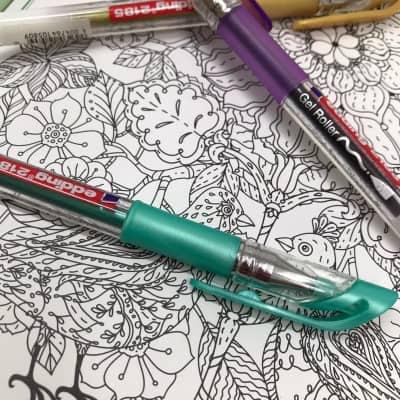 Edding Gel Roller– jetzt mit neuen Farben