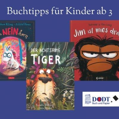 Bilderbuchtipps für Kinder