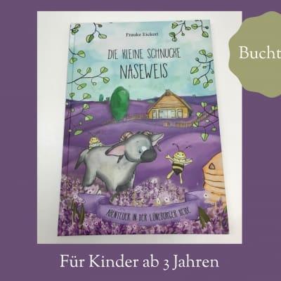 """""""Die kleine Schnucke Naseweis– Abenteuer in der Lüneburger Heide"""""""