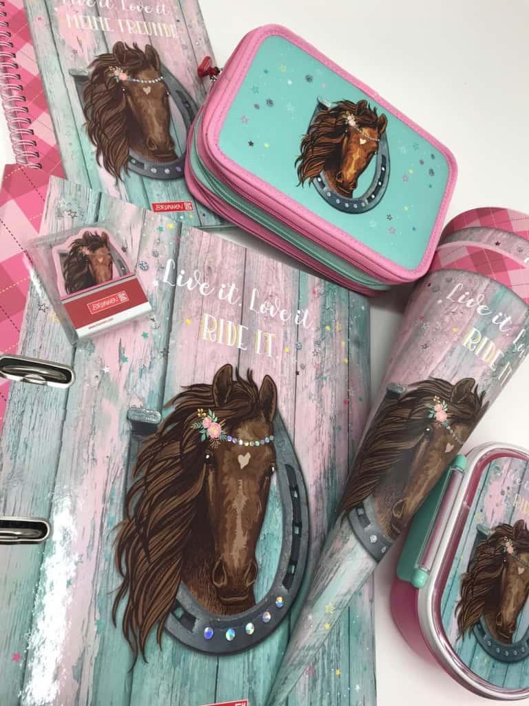 Neu bei uns im Laden: Kollektion Ponylove von Brunnen für kleine Pferdefans