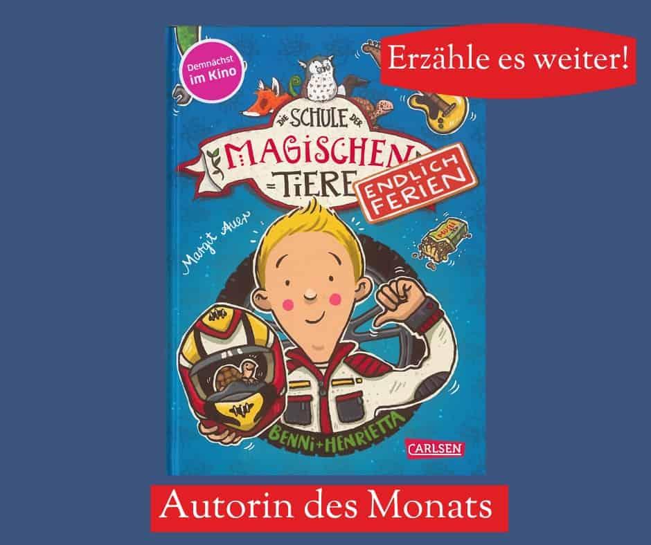 Cover: Schule der magischen Tiere: Endlich Ferien von Margit Auer