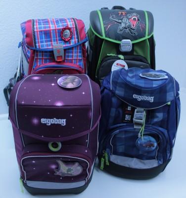 Verkaufsaktion Marken-Schulranzensets und -Schulrucksäcke auf dem Bispinger Weihnachtsmarkt