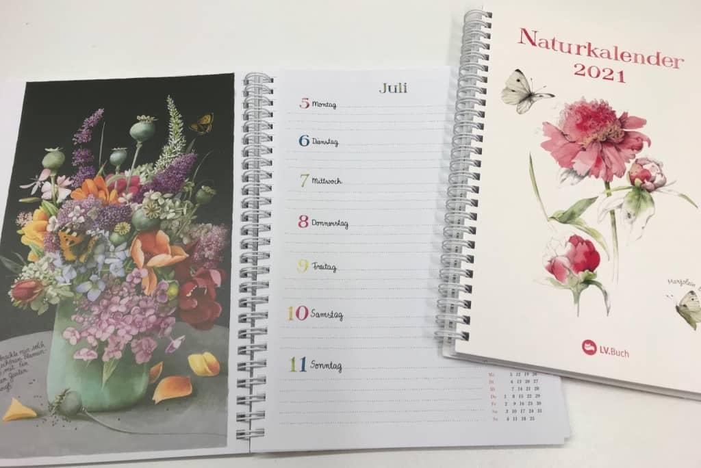 Naturkalender 2021 von Marjolein Bastin