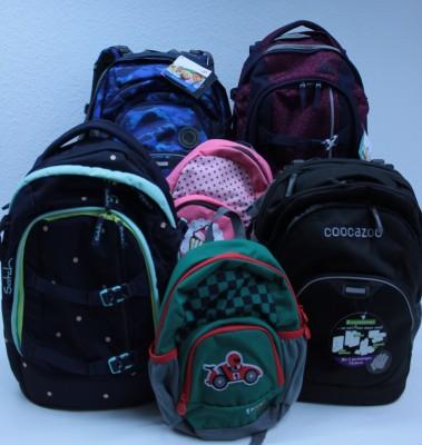 Marken-Schulranzensets und -rucksäcke zu Weihnachtspreisen