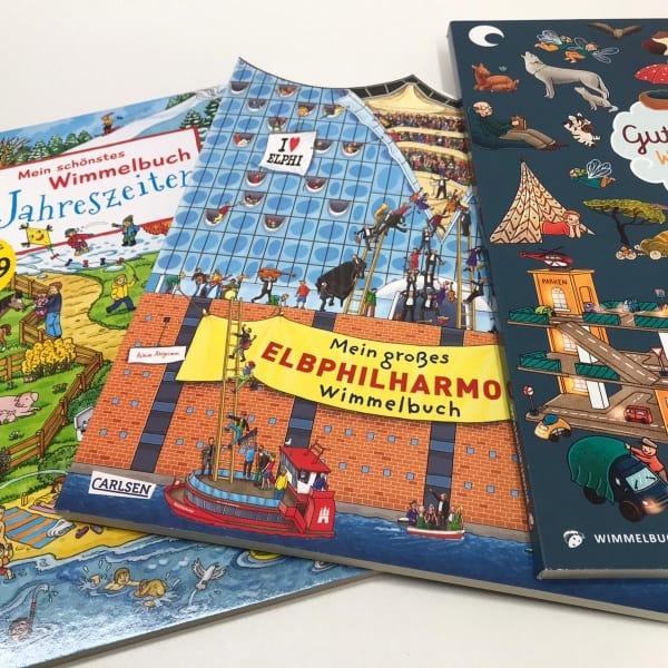 Neue Wimmelbücher für Kinder   Dodt Bispingen