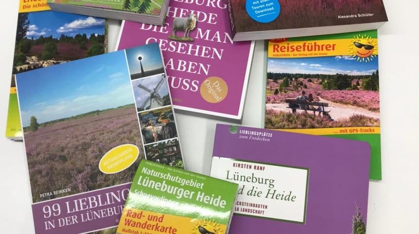 Alles um Deine Region zu entdecken: Reiseführer, Wanderführer und Karten für die Lüneburger Heide