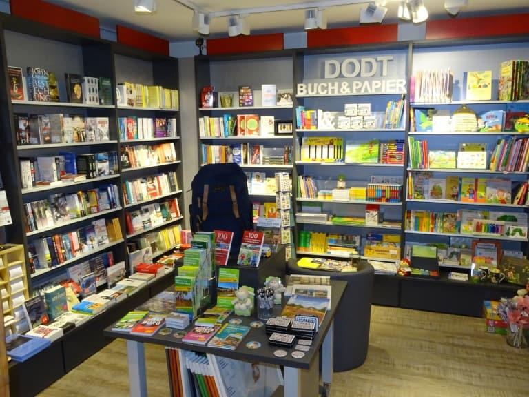 Buchabteilung - Schreibwaren Dodt in Bispingen