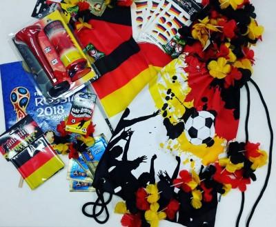 Fanartikel zur Fußballweltmeisterschaft 2018