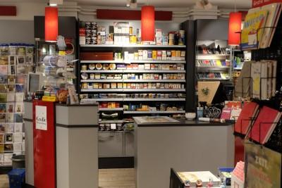 Kassenbereich und Lottoannahme - Schreibwaren Dodt in Bispingen