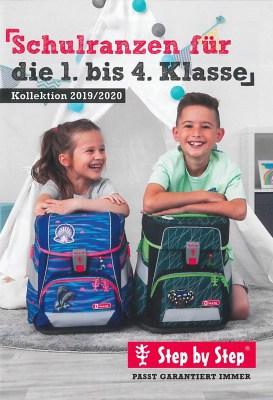 Deckblatt Kollektion Schulranzen 2019/2020 von Step by Step