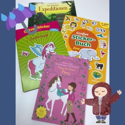 Neue Stickerbücher | Dodt Buch und Papier Bispingen