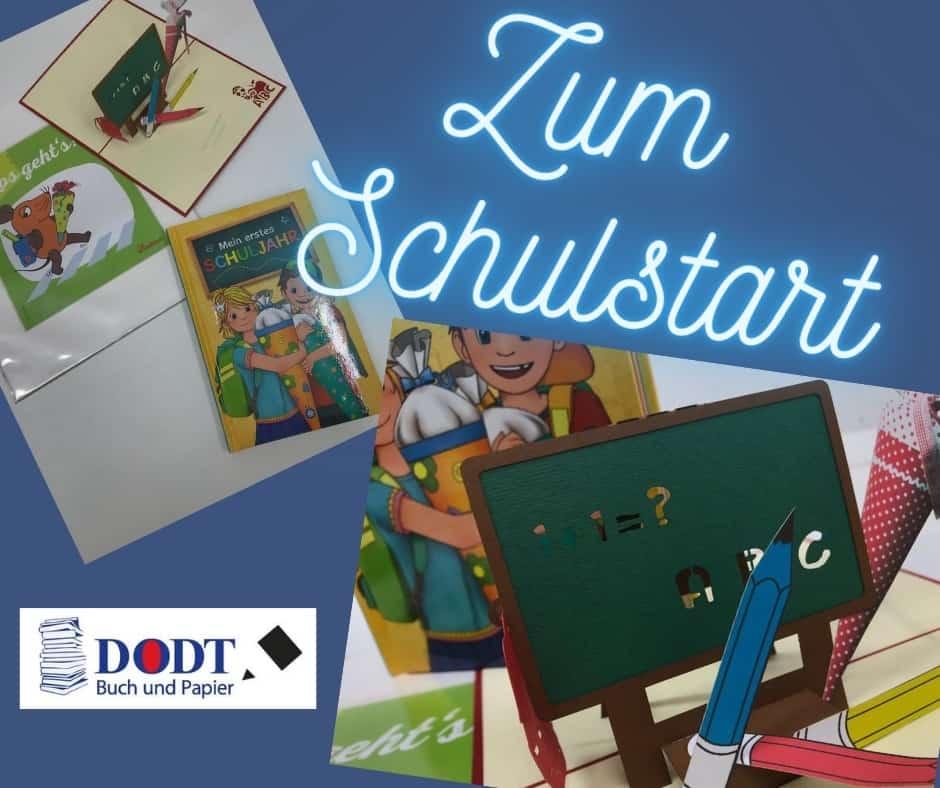 Geschenktipps zum Schulstart bei Dodt Buch und Papier in Bispingen